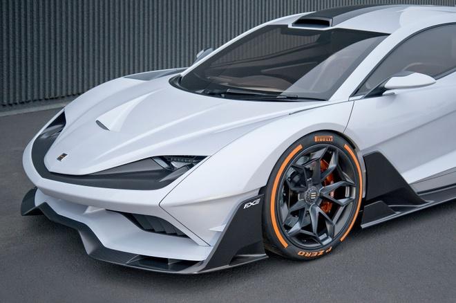 Aria FXE - sieu xe hybrid manh 1.150 ma luc hinh anh 2