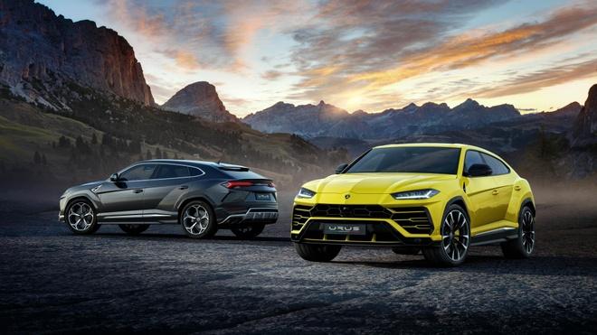 Lamborghini Urus - Sieu SUV nhanh nhat the gioi ra mat hinh anh 1