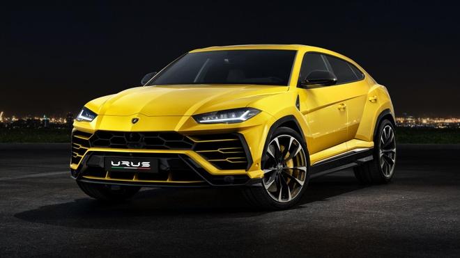 Lamborghini Urus - Sieu SUV nhanh nhat the gioi ra mat hinh anh 2