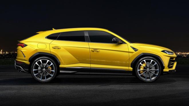 Lamborghini Urus - Sieu SUV nhanh nhat the gioi ra mat hinh anh 3