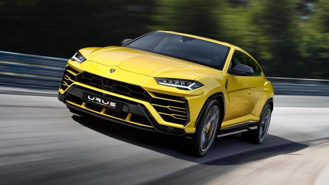 Lamborghini Urus - Sieu SUV nhanh nhat the gioi ra mat hinh anh