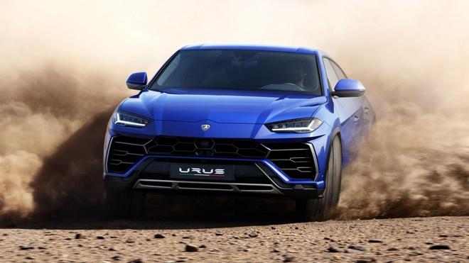 Lamborghini Urus - Sieu SUV nhanh nhat the gioi ra mat hinh anh 6