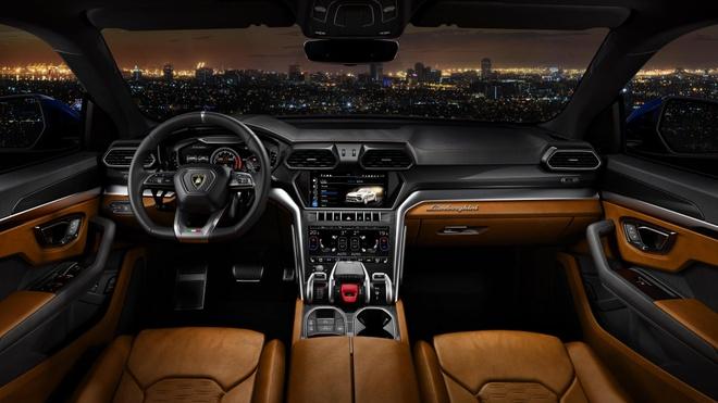 Lamborghini Urus - Sieu SUV nhanh nhat the gioi ra mat hinh anh 4