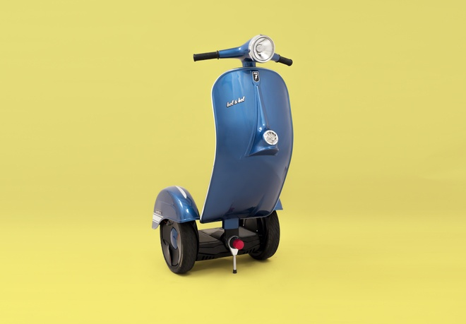 Bel&Bel Z-Scooter - xe tu can bang nhai Vespa hinh anh 1
