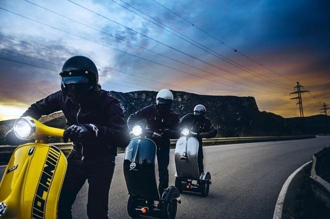Bel&Bel Z-Scooter - xe tu can bang nhai Vespa hinh anh 8