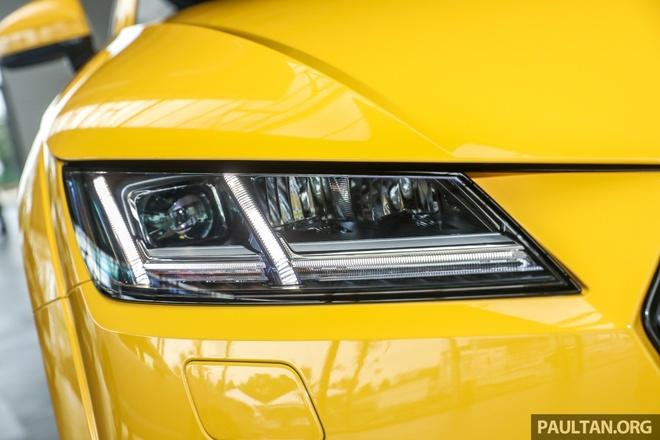 Audi TT phien ban gioi han ra mat tai Malaysia hinh anh 3