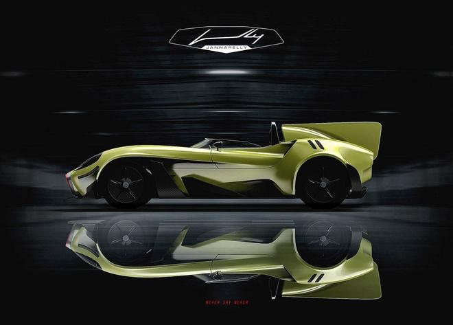 Ban mau Jannarelly Design X-1: Sieu xe dien dang hoai co hinh anh 3