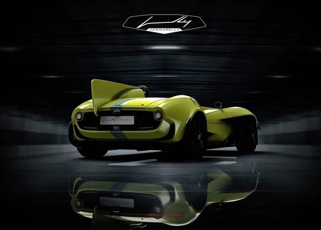 Ban mau Jannarelly Design X-1: Sieu xe dien dang hoai co hinh anh 4