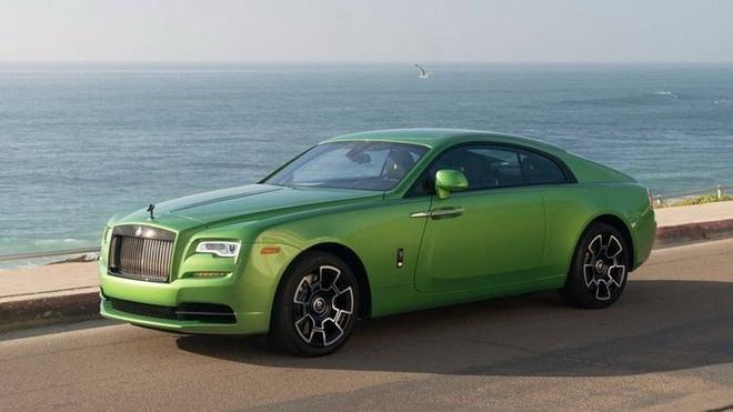 Rolls-Royce Wraith mau xanh com gia hon 400.000 USD hinh anh