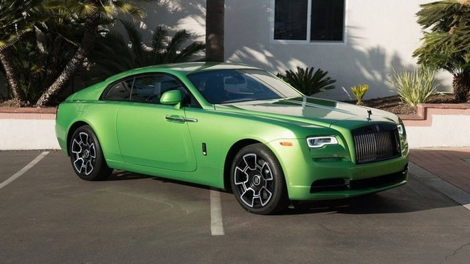 Rolls-Royce Wraith mau xanh com gia hon 400.000 USD hinh anh 1
