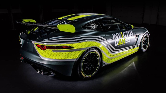 F-Type GT4 - chiec xe dua GT dau tien cua Jaguar sau 50 nam hinh anh 4