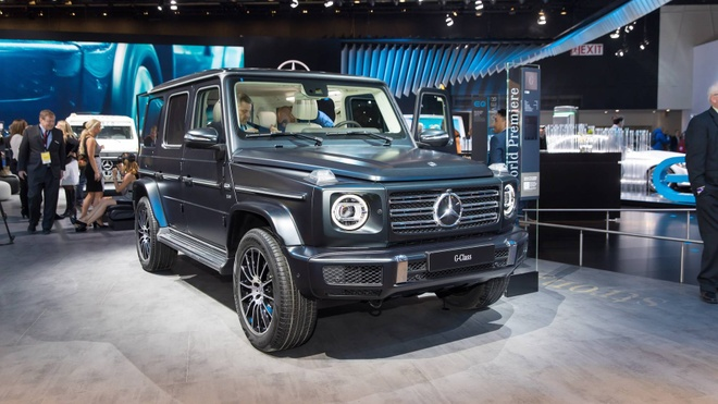 Mercedes-Benz G-Class them sang trong voi ban Night Package hinh anh 5