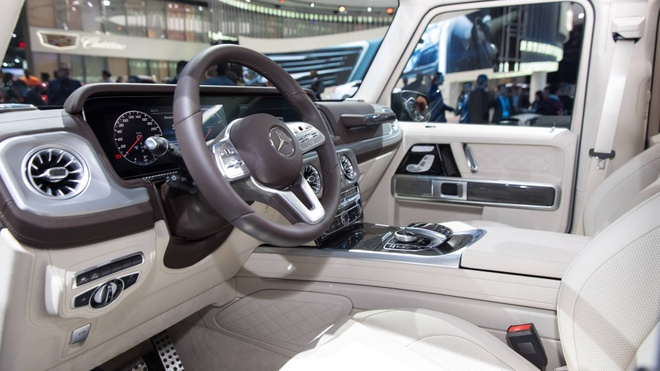 Mercedes-Benz G-Class them sang trong voi ban Night Package hinh anh 6