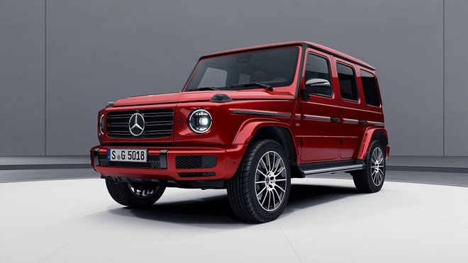 Mercedes-Benz G-Class them sang trong voi ban Night Package hinh anh 1