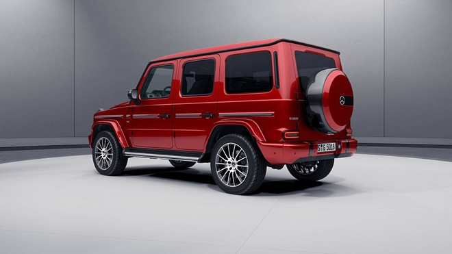 Mercedes-Benz G-Class them sang trong voi ban Night Package hinh anh 2