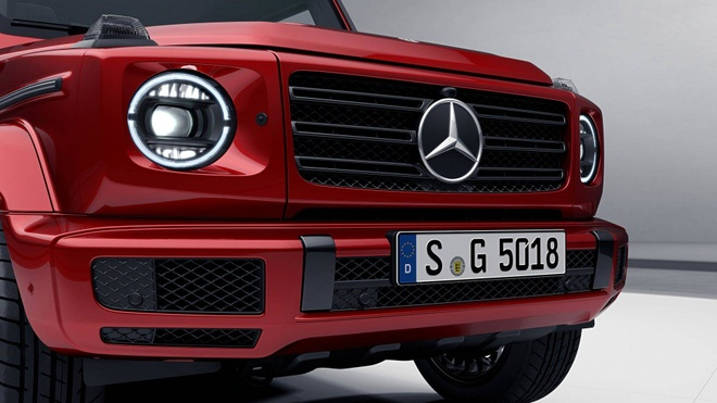 Mercedes-Benz G-Class them sang trong voi ban Night Package hinh anh 3