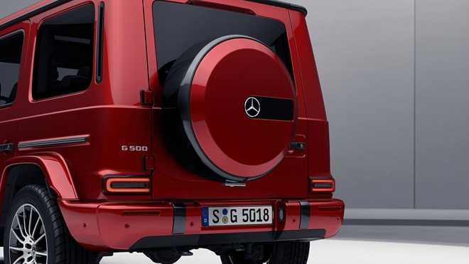 Mercedes-Benz G-Class them sang trong voi ban Night Package hinh anh 4