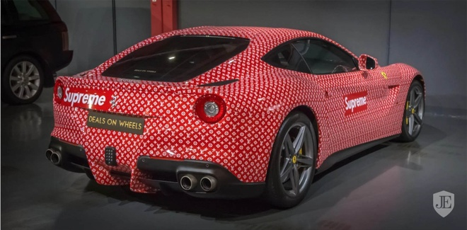 Thieu gia 15 tuoi ban Ferrari F12 Berlinetta Supreme x Louis Vuitton hinh anh 3