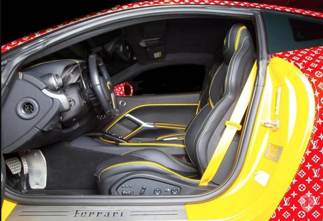 Thieu gia 15 tuoi ban Ferrari F12 Berlinetta Supreme x Louis Vuitton hinh anh 4