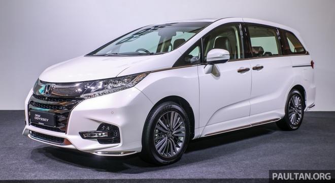 Honda Odyssey 2018 ra mat tai Malaysia, gia tu 65.000 USD hinh anh 1