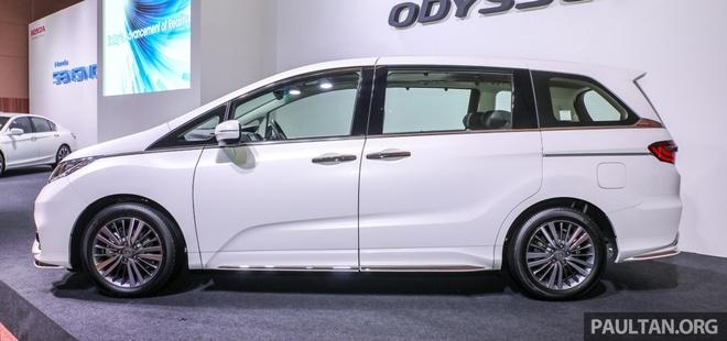 Honda Odyssey 2018 ra mat tai Malaysia, gia tu 65.000 USD hinh anh 2