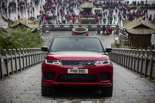 Range Rover Sport 2018 - chiec SUV dau tien chinh phuc Cong Troi hinh anh