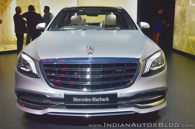 Sedan dau bang Mercedes-Maybach S650 ra mat tai An Do hinh anh 3