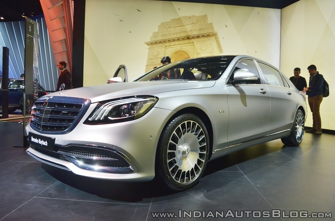 Sedan dau bang Mercedes-Maybach S650 ra mat tai An Do hinh anh 1