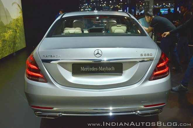 Sedan dau bang Mercedes-Maybach S650 ra mat tai An Do hinh anh 4