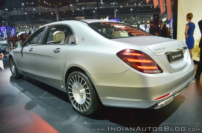 Sedan dau bang Mercedes-Maybach S650 ra mat tai An Do hinh anh 5