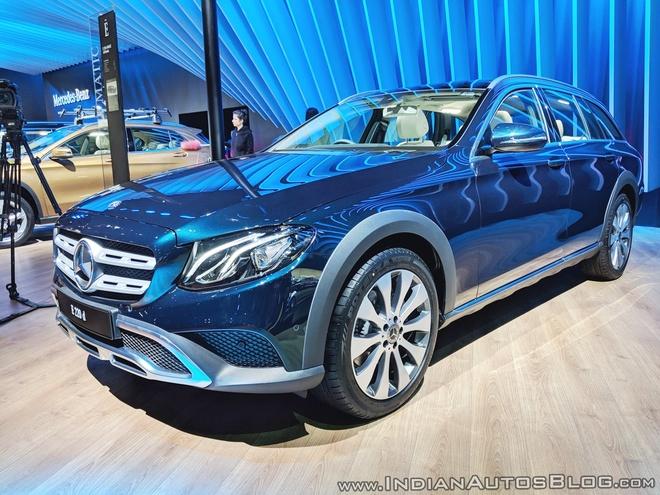 Mercedes-Benz ra mat mau xe da nang E-Class All-Terrain 2018 tai An Do hinh anh