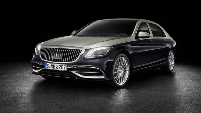 Loat anh Mercedes-Maybach S-Class 2019 sieu sang vua ra mat hinh anh