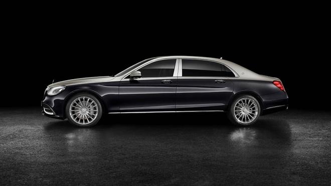 Loat anh Mercedes-Maybach S-Class 2019 sieu sang vua ra mat hinh anh 3