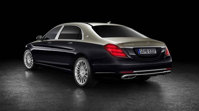 Loat anh Mercedes-Maybach S-Class 2019 sieu sang vua ra mat hinh anh 2