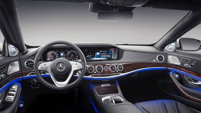 Loat anh Mercedes-Maybach S-Class 2019 sieu sang vua ra mat hinh anh 5
