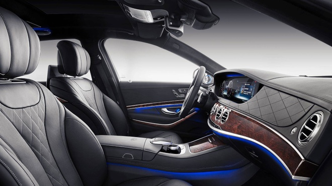 Loat anh Mercedes-Maybach S-Class 2019 sieu sang vua ra mat hinh anh 4