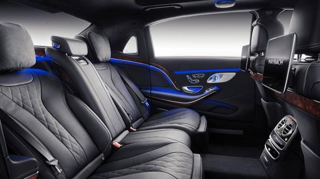 Loat anh Mercedes-Maybach S-Class 2019 sieu sang vua ra mat hinh anh 6
