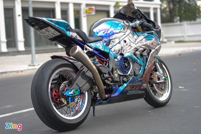 BMW S1000RR full carbon anh 2