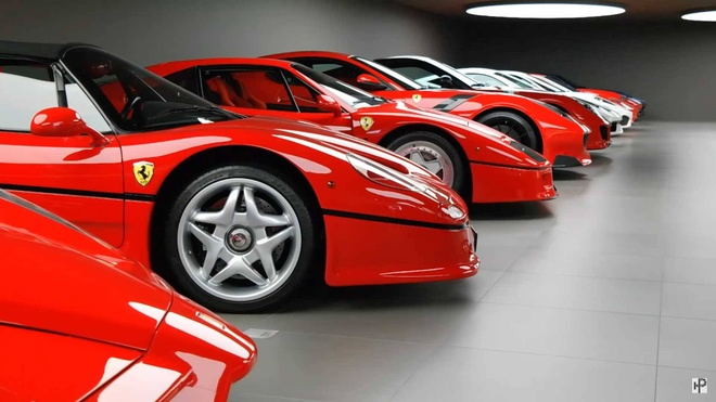 Bo suu tap Ferrari do so nhat the gioi hinh anh