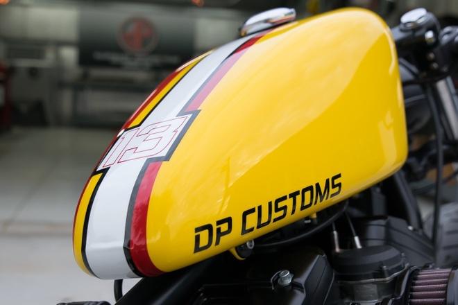 Harley-Davidson Forty-Eight do bobber doc nhat cua biker Viet hinh anh 12