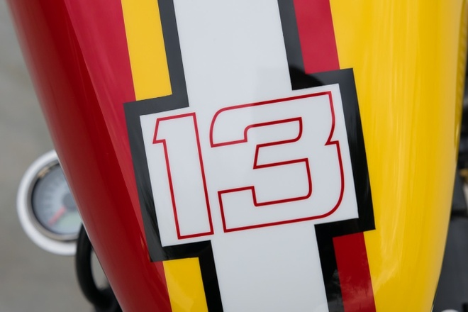Harley-Davidson Forty-Eight do bobber doc nhat cua biker Viet hinh anh 4