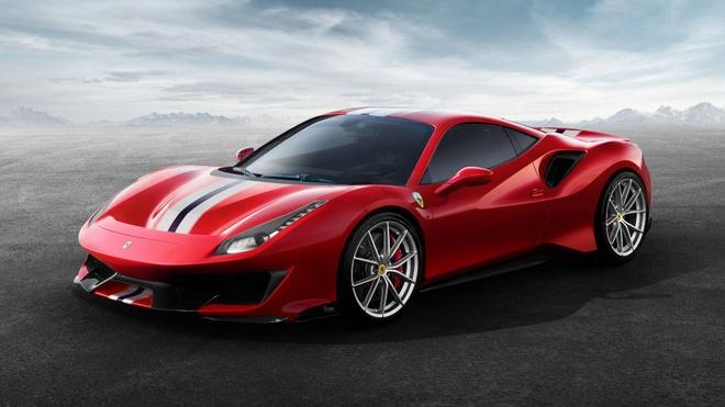 Ferrari 488 Pista chinh thuc lo dien hinh anh 1