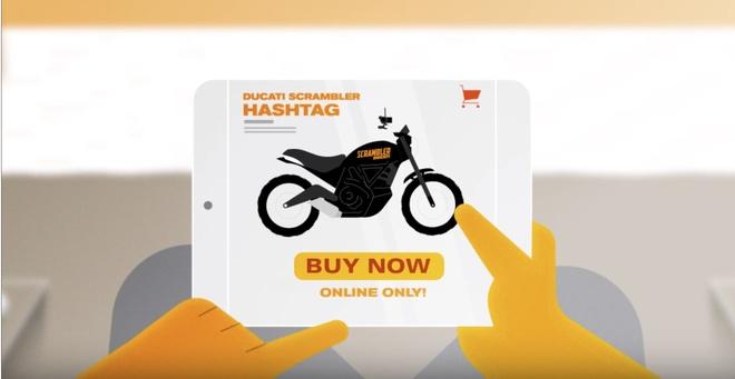 Moto moi cua Ducati chi co the mua online hinh anh 4