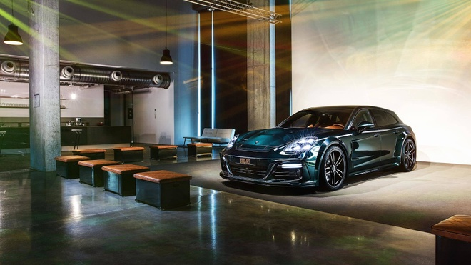 Porsche Panamera Sport Turismo voi noi that da anh 2
