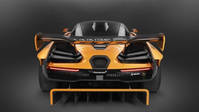 McLaren Senna GTR ban gioi han gia 1,5 trieu USD hinh anh 5