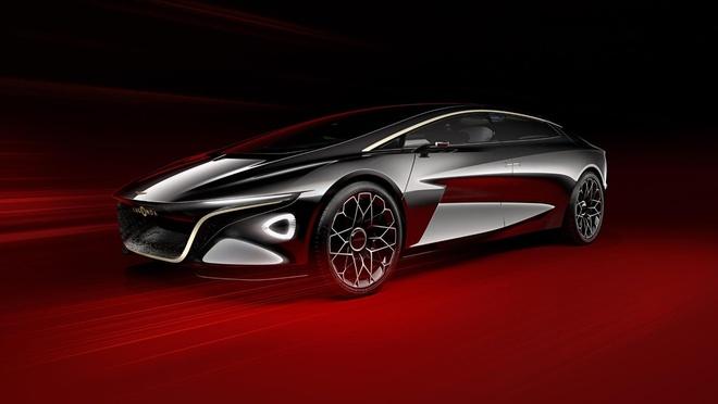 Aston Martin Lagonda Vision - sieu xe dien tu lai den tu tuong lai hinh anh