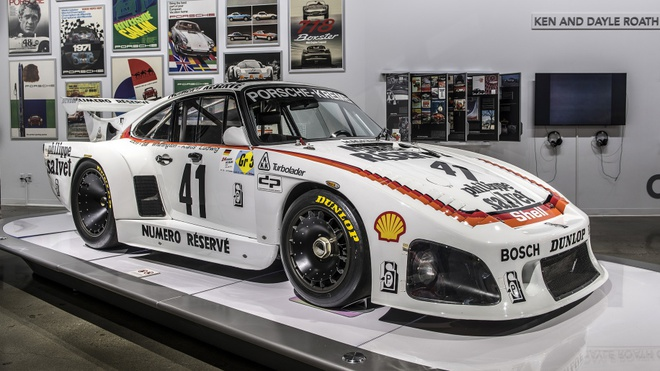 Nhung mau xe huyen thoai cua Porsche tai bao tang xe lon nhat the gioi hinh anh 3
