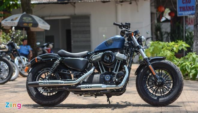 Harley-Davidson Forty-Eight phien ban dac biet tai Viet Nam hinh anh 2