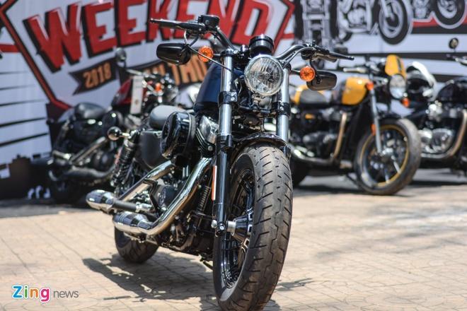Harley-Davidson Forty-Eight phien ban dac biet tai Viet Nam hinh anh 1