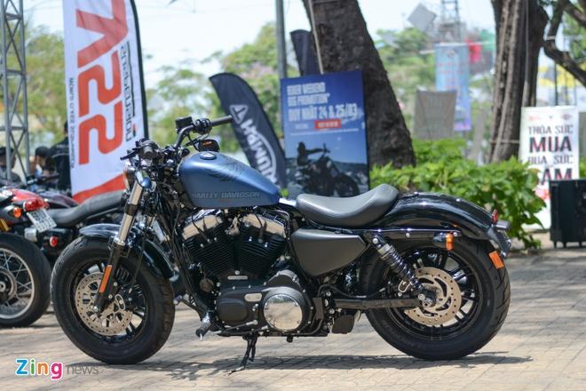 Harley-Davidson Forty-Eight phien ban dac biet tai Viet Nam hinh anh 8